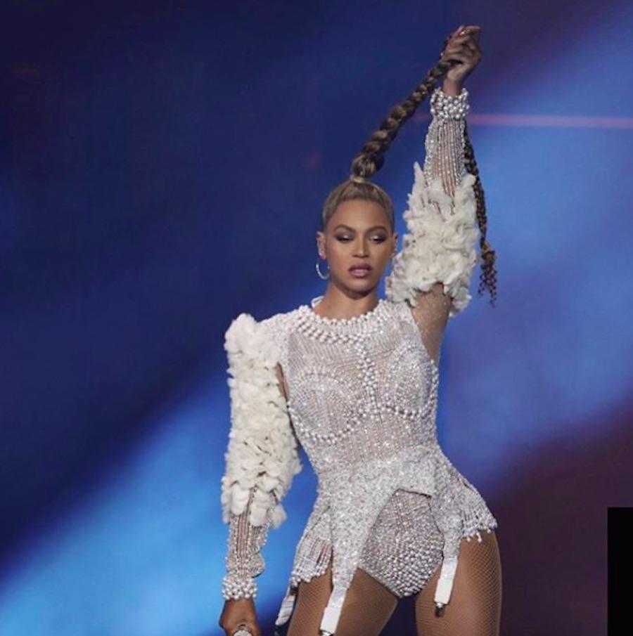 Beyonce Chopped Off Braid