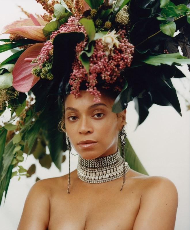 beyonce-vogue-floral-headress