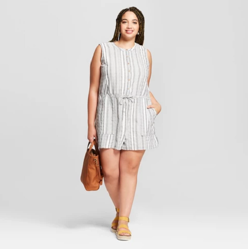 rompers-plus-size-target