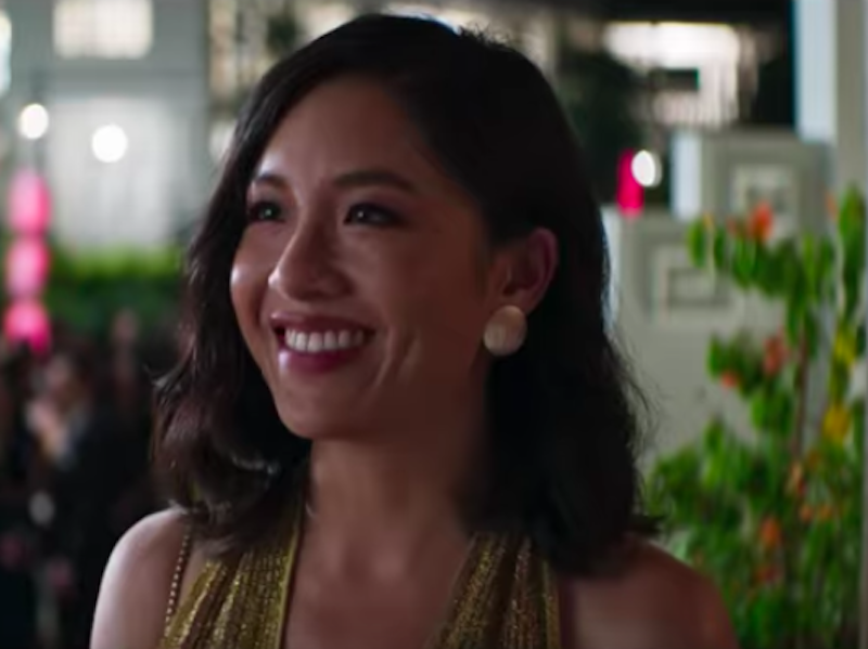 "Constance Wu in ""Crazy Rich Asians"""