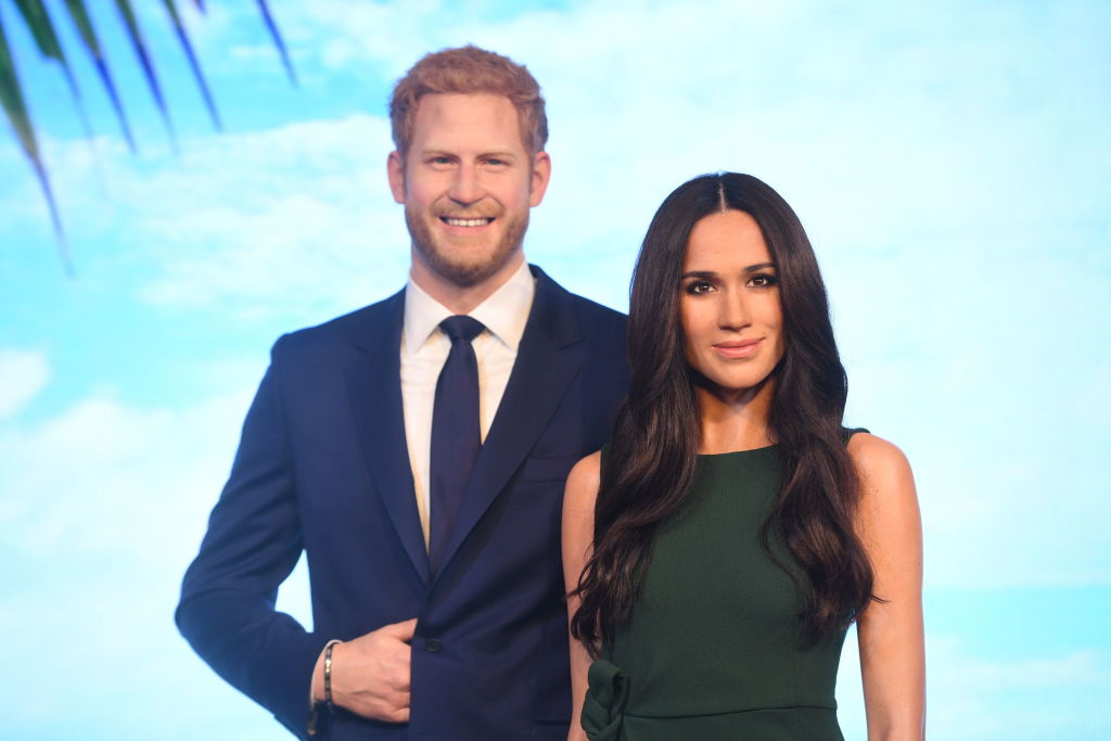 Picture of Prince Harry Meghan Markle Wax Figures