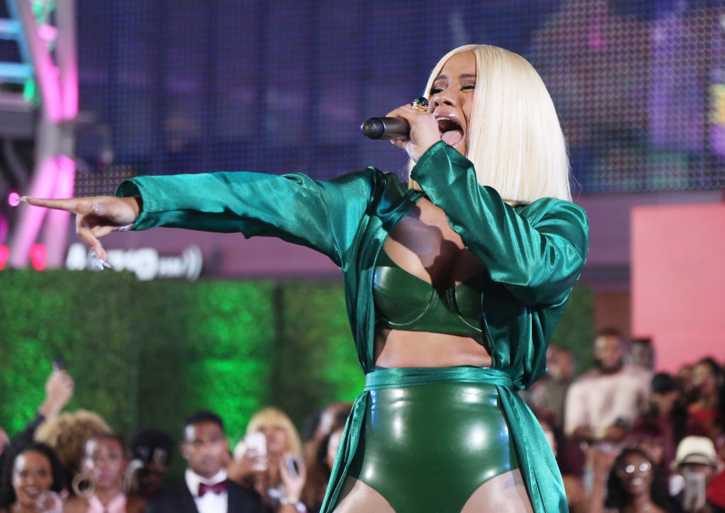 Picture of Cardi B Surprise Performance