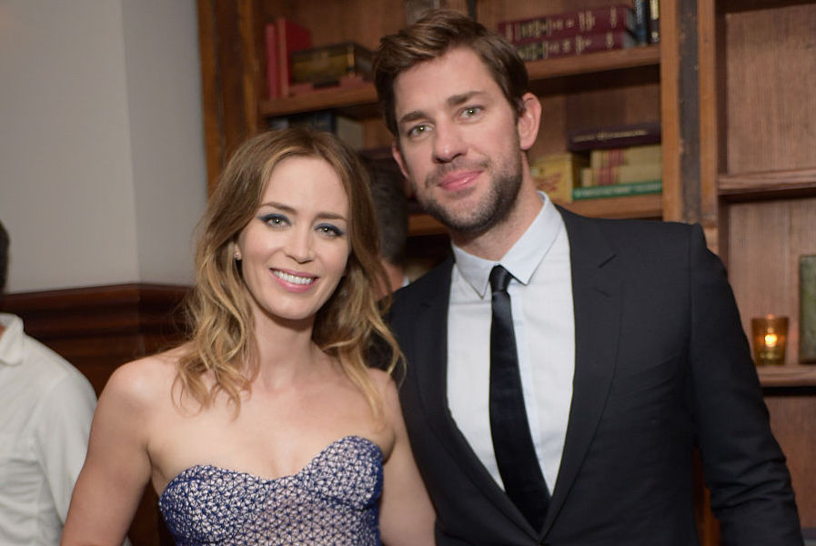 Picture of John Krasinski Emily Blunt Success