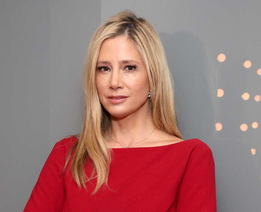 Mira Sorvino at Time's Up event