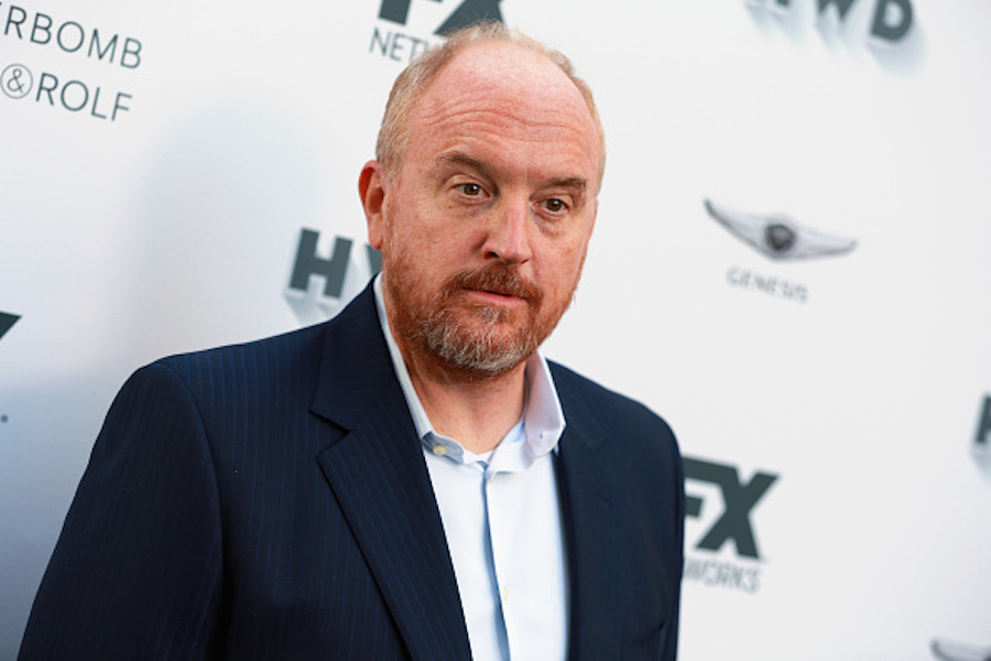 Louis C.K. at 2017 Emmy celebration