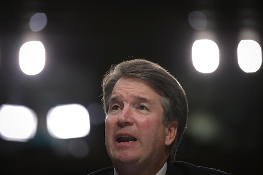 Brett Kavanaugh at Supreme Court nominee confirmation hearing