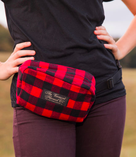 Vermont flannel flanny pack