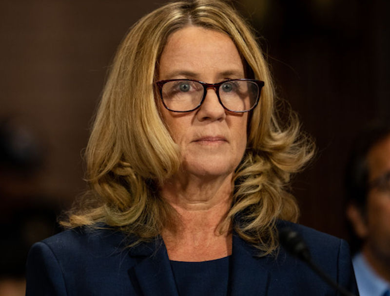 Christine Blasey Ford at Kavanaugh Hearings