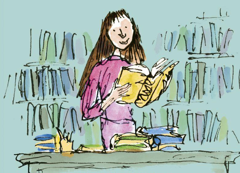 Picture of Matilda Illustrations