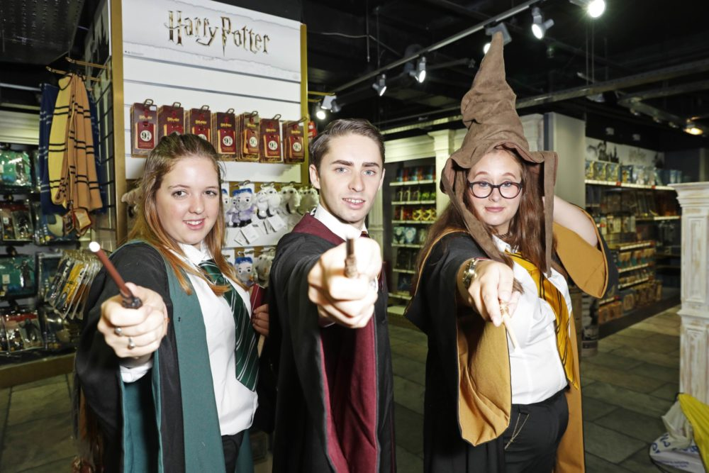 Photo of Harry Potter at Hamleys Launch