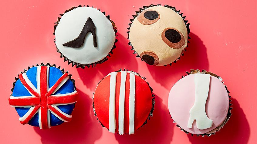 Pumpkin Spice Girls Cupcakes