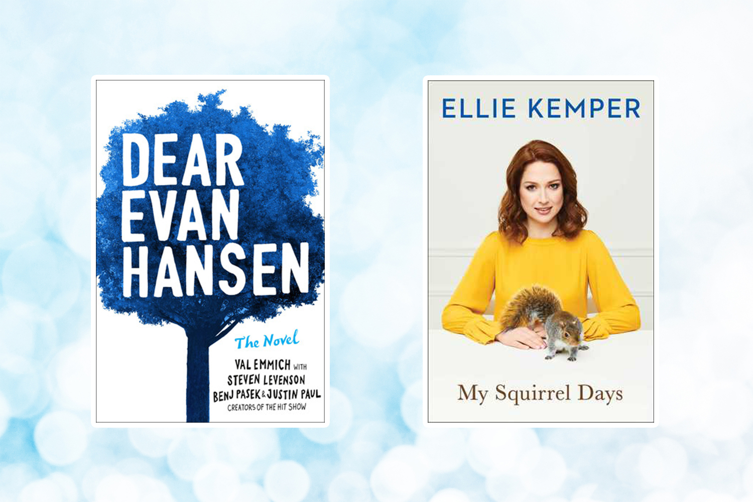 Picture of Books Coming Out This Week Dear Evan Hansen My Squirrel Days Books