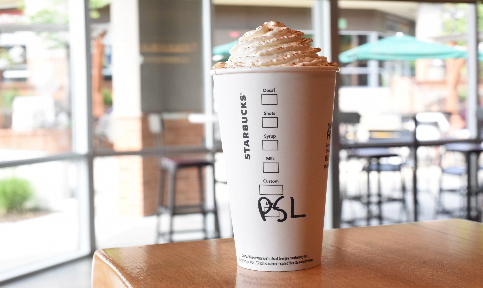what's in the pumpkin spice latte