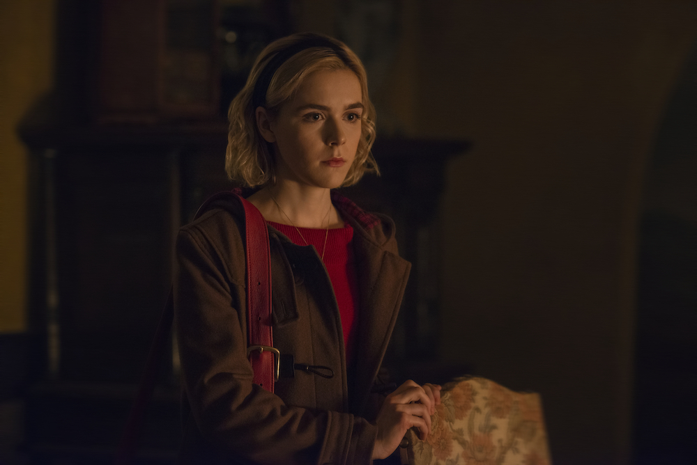 Picture of Chilling Adventures of Sabrina Kiernan Shipka Witchy Side