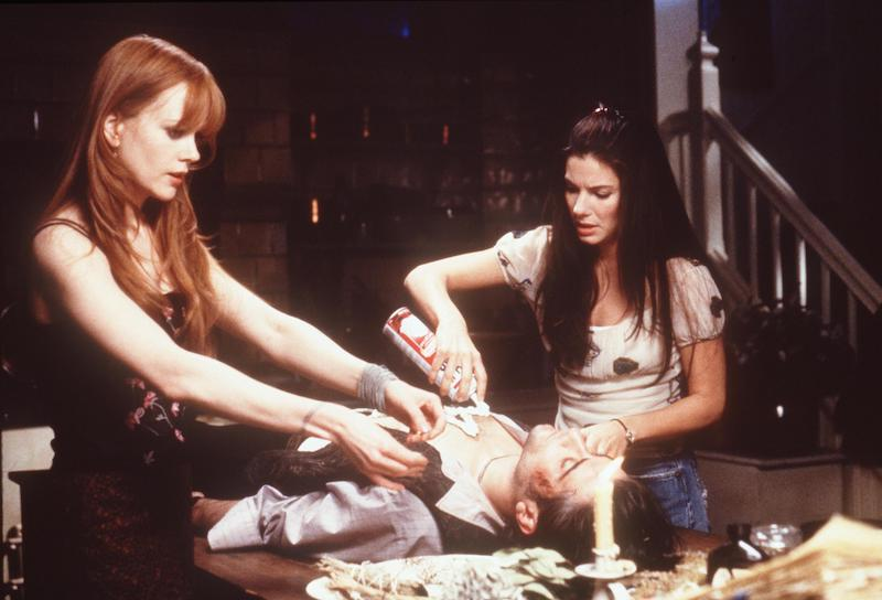 "Sandra Bullock and Nicole Kidman in ""Practical Magic"""