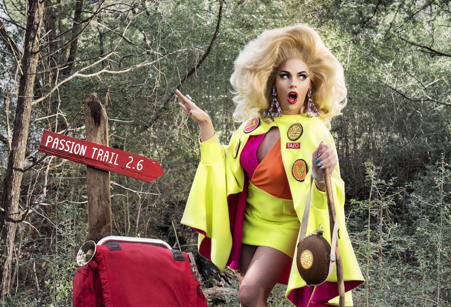 Alyssa Edwards for Camp TAZO