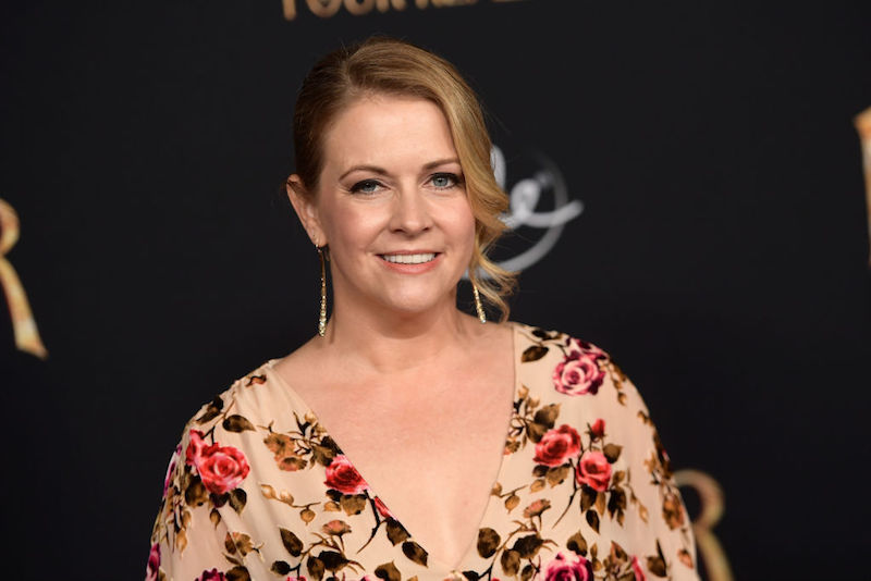 Melissa Joan Hart at premier of Disney's Nutracker and the Four Realms