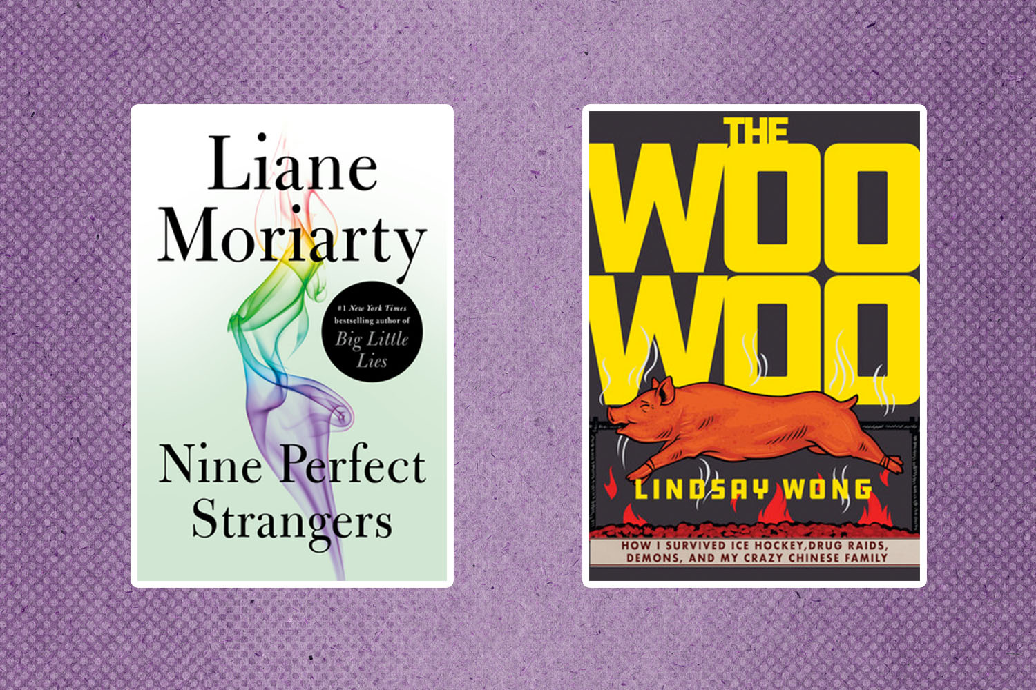 Picture of Books Coming Out This Week Nine Perfect Strangers The Woo-Woo Books