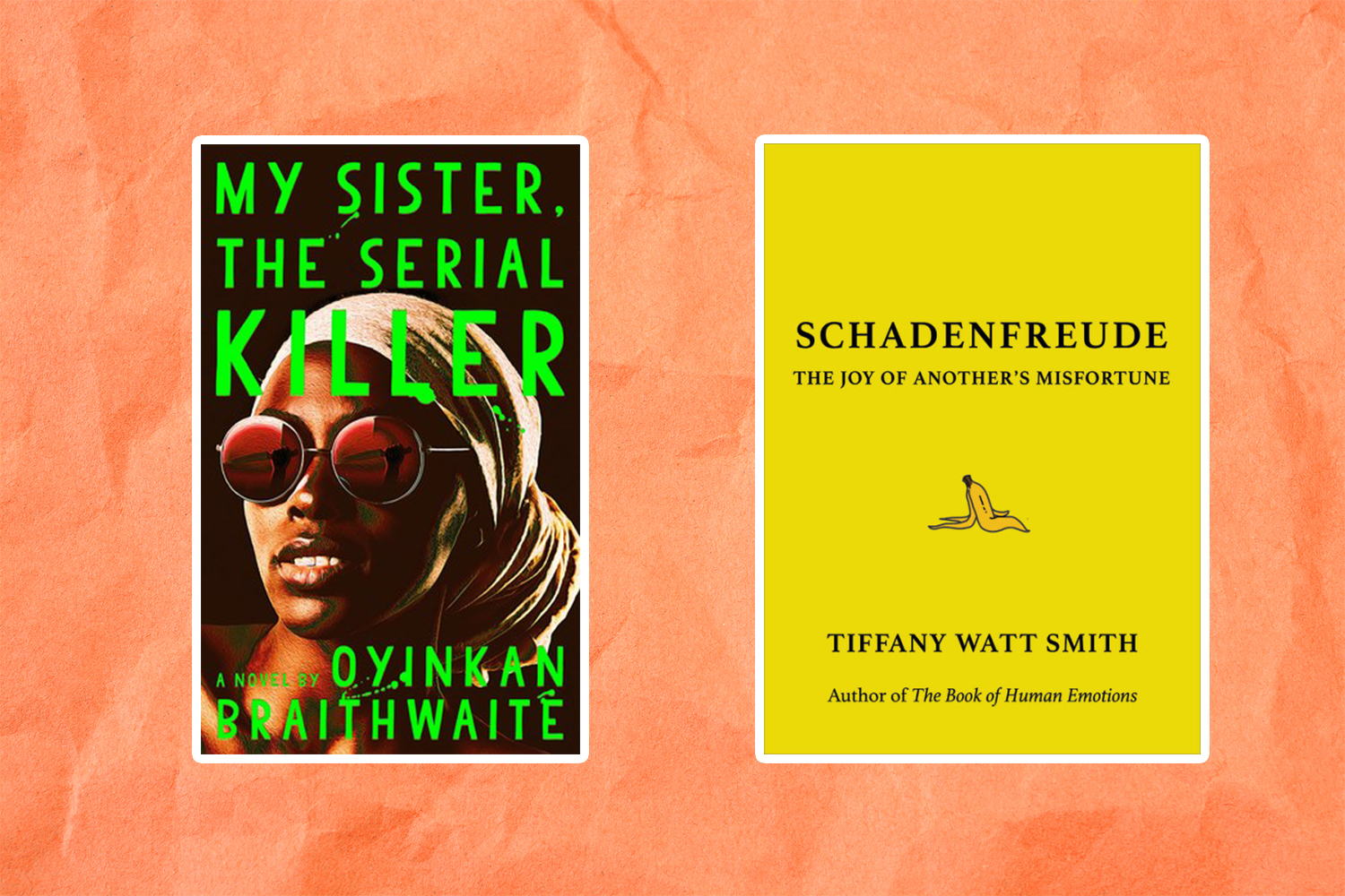 Picture of Books Coming Out This Week My Sister the Serial Killer Schadenfreude Books