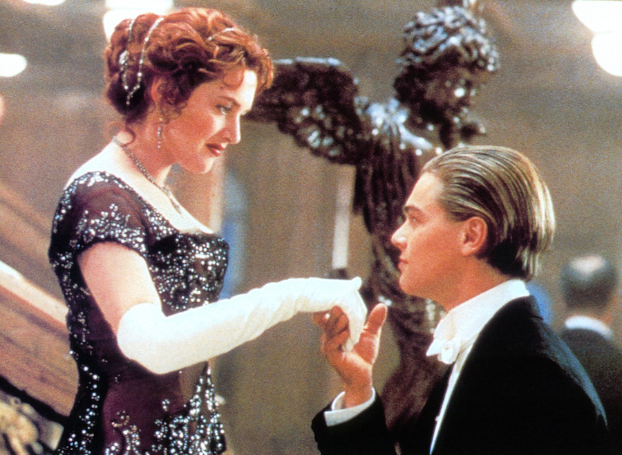 Kate Winslet as Rose in Titanic