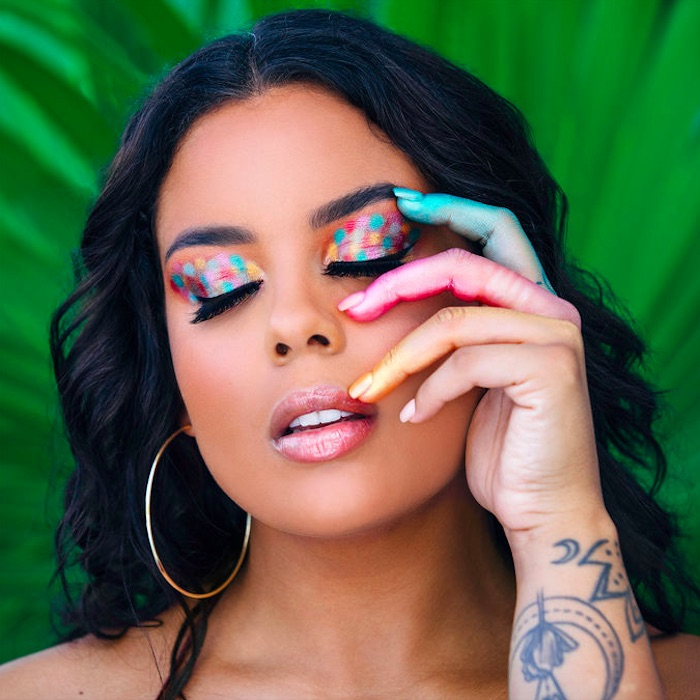 Colorful Tarte Eyeshadow Palette