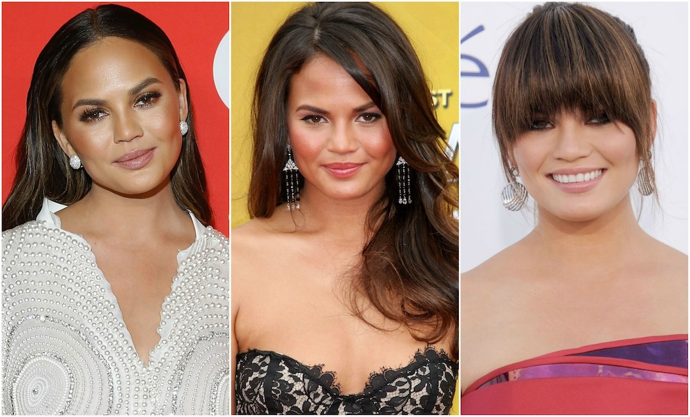 Chrissy Teigen Beauty Evolution