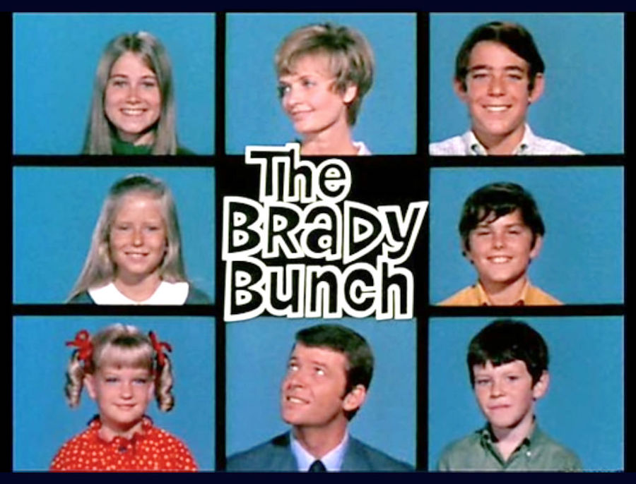 Brady Bunch title card