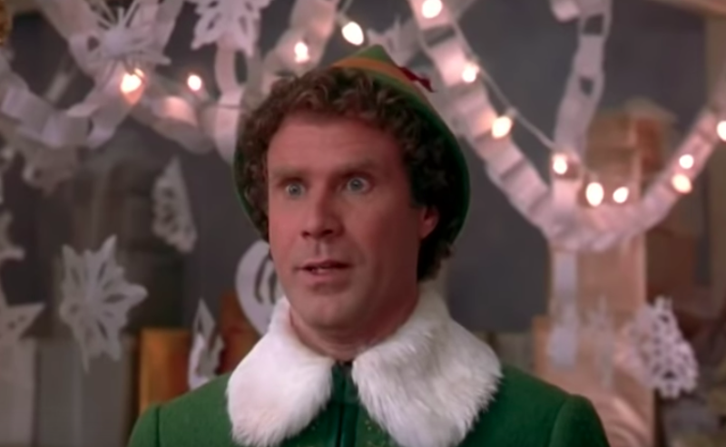 Elf starring Will Ferrell