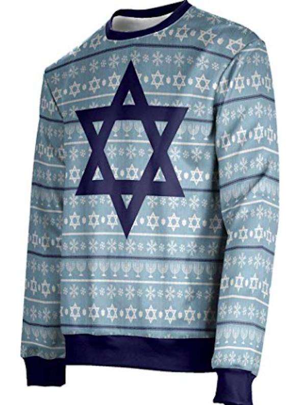 jewish-star-sweater