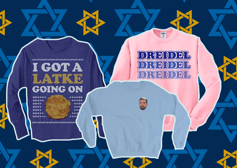 Jewish ugly sweaters
