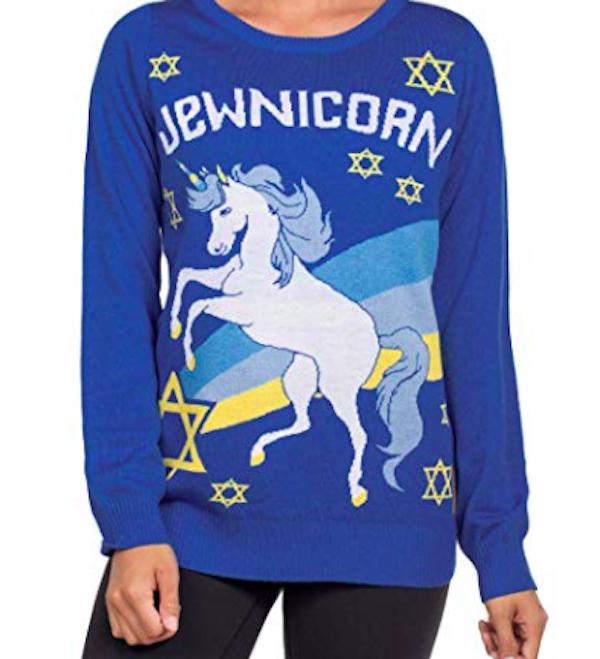 Jewnicorn sweater