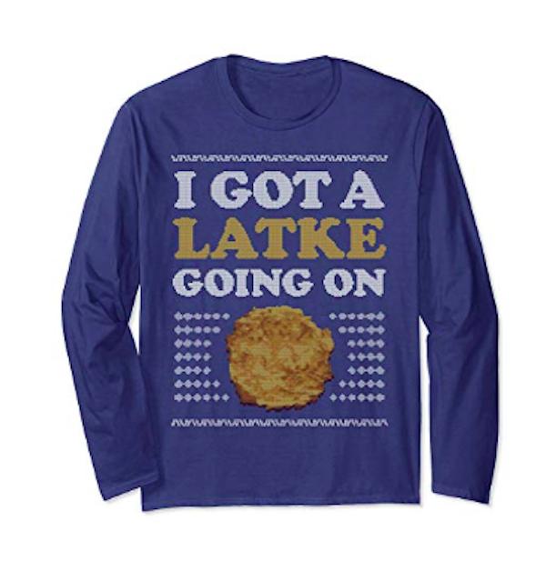 Latke sweater