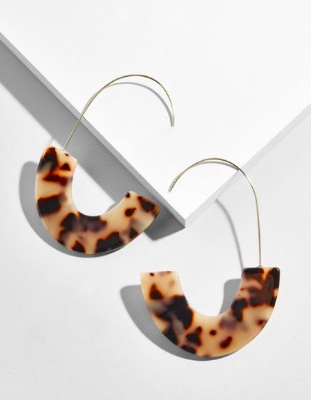 Tortoise Earrings