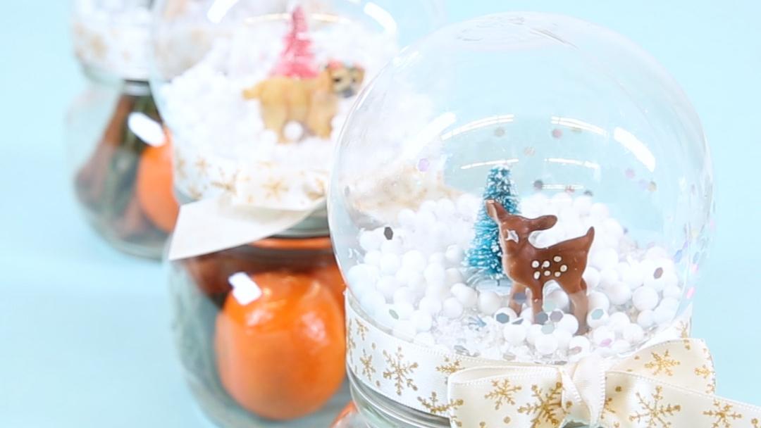 snow globe potpourri