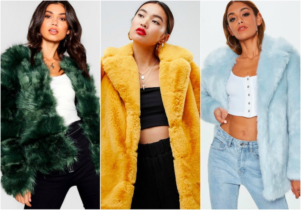 Shop Faux Fur Coats