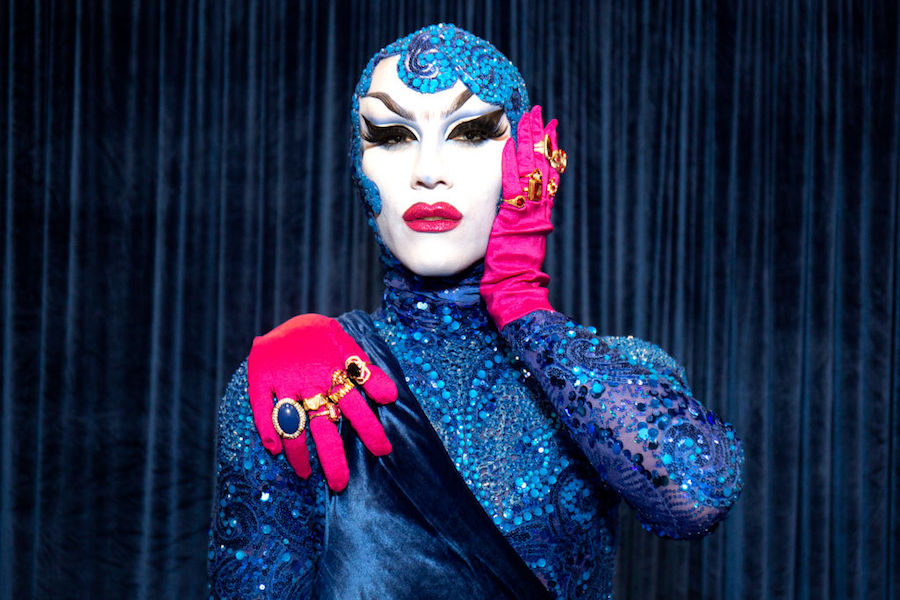 Sasha Velour at RuPaul's DragCon in 2018