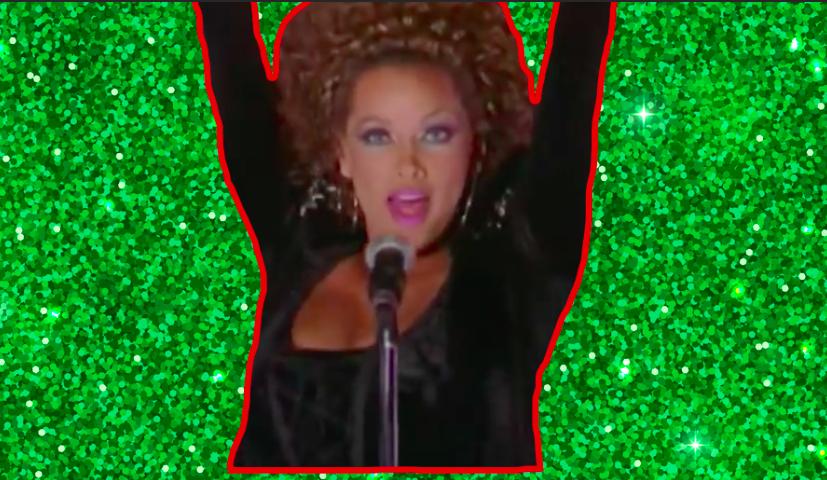 "Vanessa Williams in ""A Diva's Christmas Carol"""