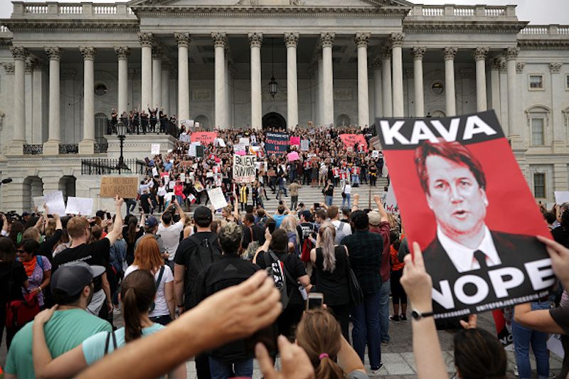 Kavanaugh confirmation protest