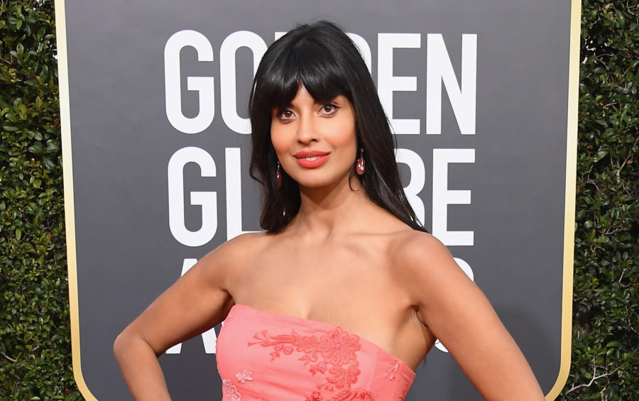 jameela jamil at the 2019 golden globes