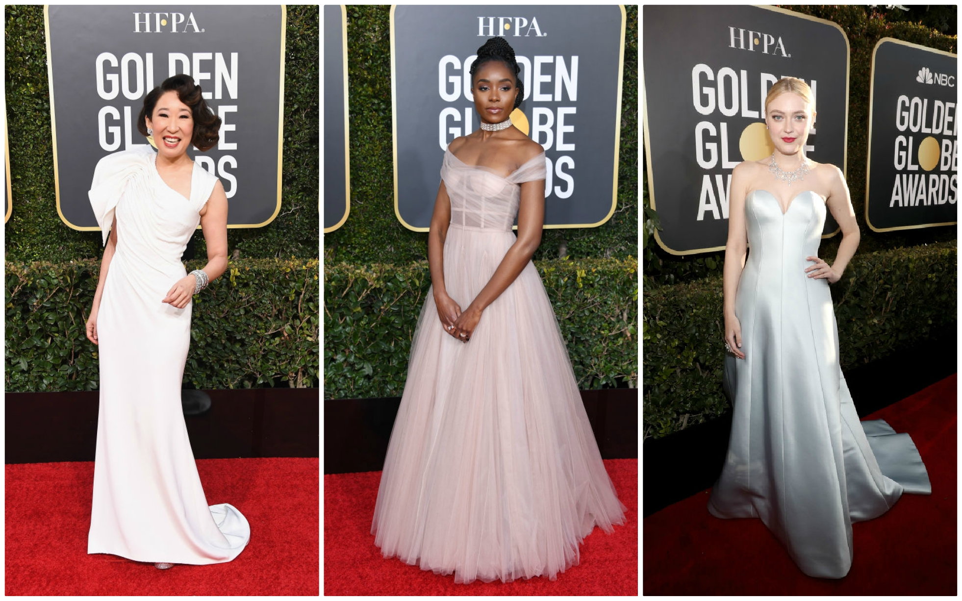 golden globes 2019 wedding dresses