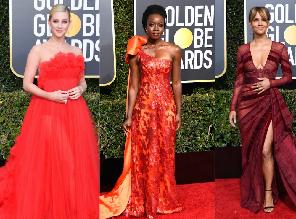 Golden Globes Red Carpet Trend