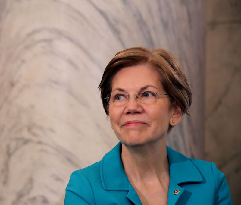 Elizabeth Warren in November 2018