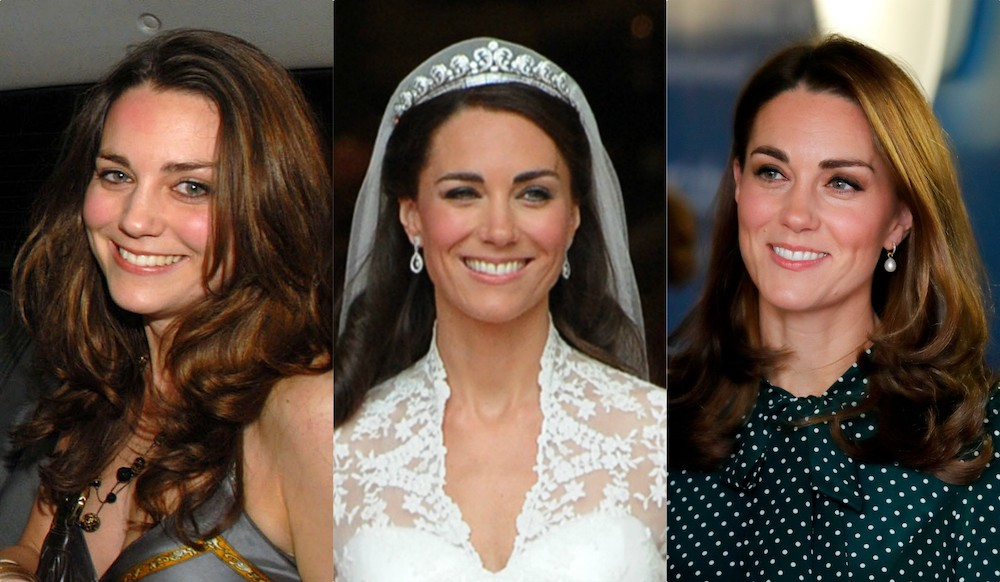 Kate Middleton Beauty Through The Years