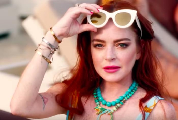 Lindsay Lohan in Lindsay Lohan's Beach Club