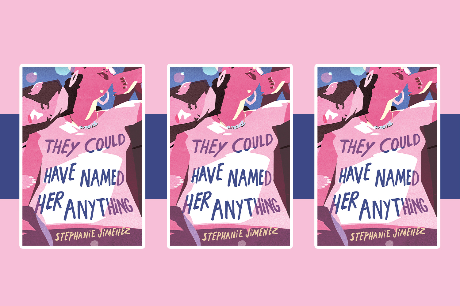 Picture of They Could Have Named Her Anything Cover Reveal