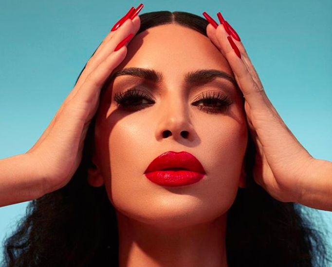 KKW Beauty Red Lipstick