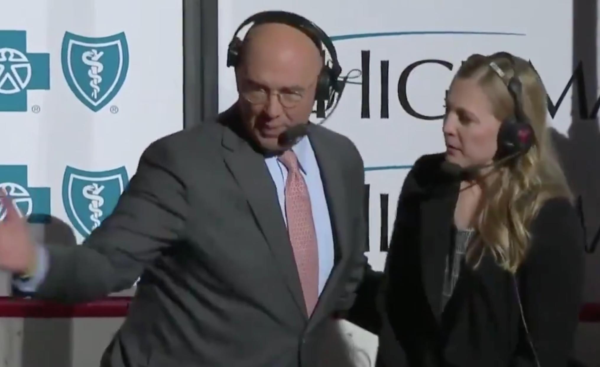 pierre mcguire mansplains hockey to kendall coyne schofield