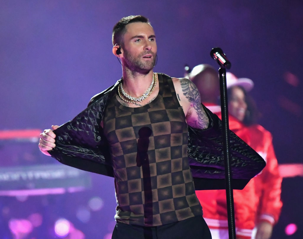 adam levine's super bowl tank top