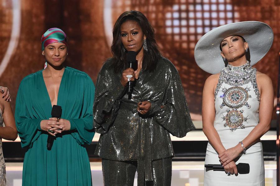 Michelle Obama at Grammys 2019