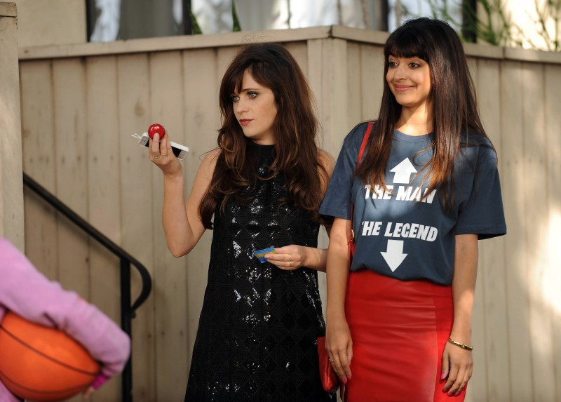 jess and cece on new girl